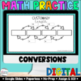 Measurement [Customary & Metric Conversions] [Google Classroom Compatible