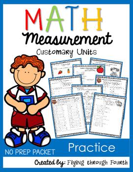 Measurement {Customary Practice} NO PREP PACKET
