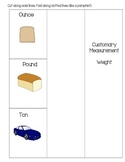 Measurement-- Customary Weight Foldable