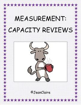 Measurement: Customary and Metric Capacity Reviews