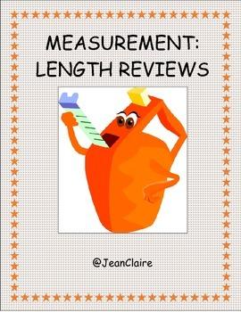 Measurement: Customary and Metric Length Reviews