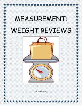Measurement: Customary and Metric Weight Reviews