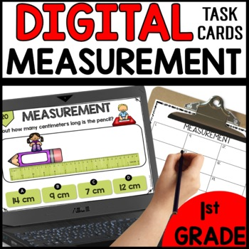Measurement  DIGITAL TASK CARDS