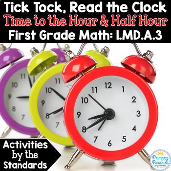 Measurement & Data 1st Grade: Activities by the Standards Bundle