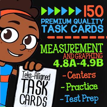Measurement & Data★ 4.8A-4.9B ★ TEK-Aligned Math ★ 4th Grade STAAR Math Review