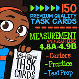 Measurement & Data ★ 4.8A 4.8B 4.8C 4.9A & 4.9B ★ STAAR Math Test Prep