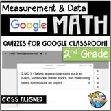 Measurement & Data - Digital - 2nd Grade - Distance Learning - Google