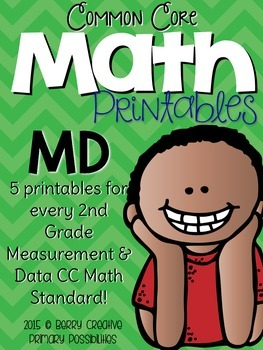 Measurement & Data Printables for Second Grade