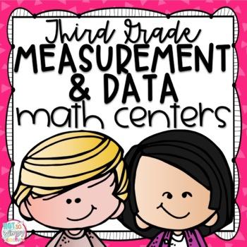 Measurement & Data Third Grade Math Centers