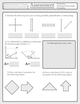 Measurement, Data, and Geometry Assessment and Pre-Assessm