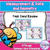 Measurement & Data and Geometry Review Task Cards