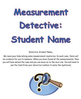 Measurement Detective Booklet