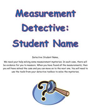Measurement Detective Booklet