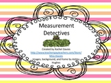 Measurement Detectives: Length and Height