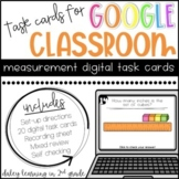 Measurement Digital Task Cards for Google Classroom