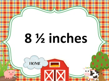 Measurement Down on the Farm PPT Game: 3.MD.4
