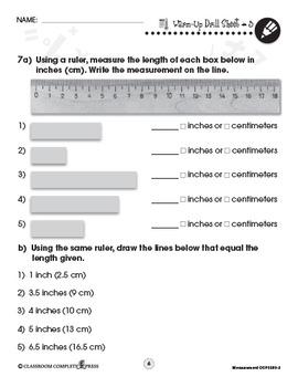 Measurement - Drill Sheets Vol. 3 Gr. PK-2