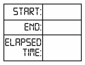 Measurement & Elapsed Time: Digital Task Cards 3.MD.1