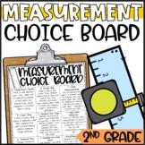 Measurement Enrichment Activities - Math Menu, Choice Board