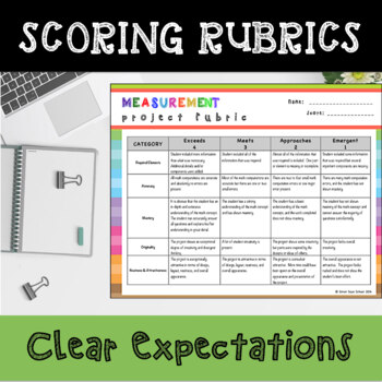 Measurement Enrichment Choice Board – 4th Grade