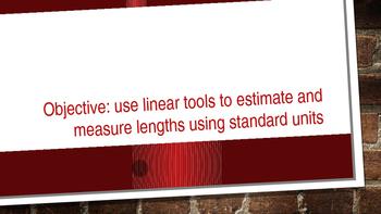 Measurement Estimate Powerpoint Lesson