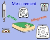 Measurement Estimation Grams and Kilograms Metric Smartboard Lessons
