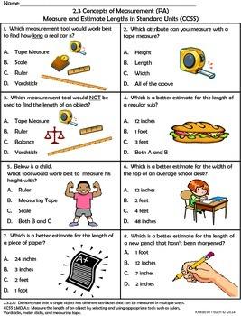 Measurement:  Estimation of Measure and Attributes Measured