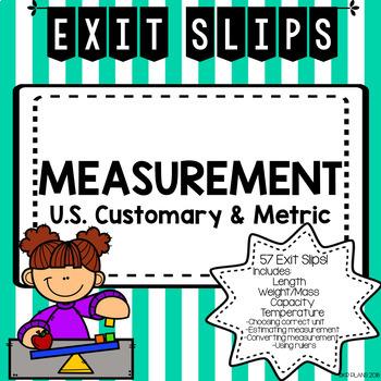 Measurement Exit Slips