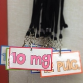 Measurement Facts Lanyard Tags (Spanish, too) - FREE