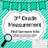 Measurement Find Someone Who Activity