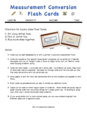 Measurement Flash Cards