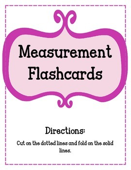 Measurement Flashcards.  Capacity Time Ounces Pounds Weight Length Distance