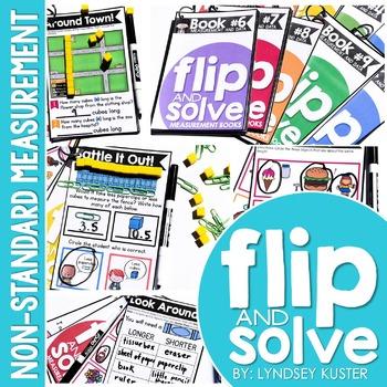 Measurement - Flip and Solve Books