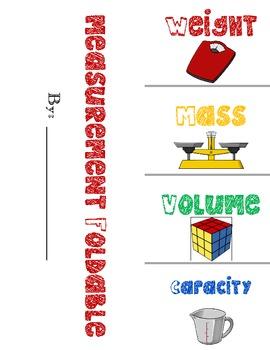 Measurement Foldable Bundle