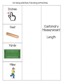 Measurement Foldables Bundle
