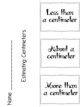 Measurement Foldables Set