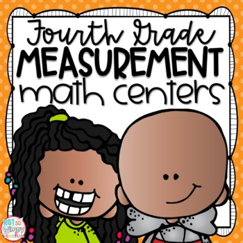 Measurement Fourth Grade Math Centers