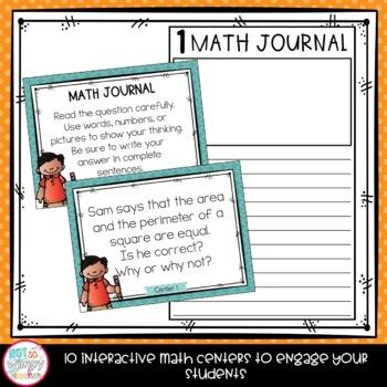 Measurement Fourth Grade Math Centers