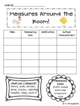 Measuring Around the Room!