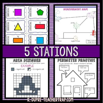 Measurement Stations and Task Cards