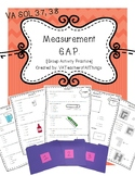 Measurement G.A.P. [Group Activity Practice] SOL 3.7 3.8
