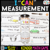 Kindergarten Math Game for Measurement - Kindergarten Math