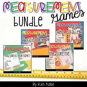Measurement Game Pack Bundle by Kim Adsit