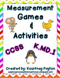 Measurement Games & Activities K.MD.1