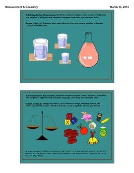 Measurement & Geometry