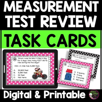 Measurement-Grade 3  (Great for Test Review!)