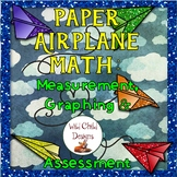 Measurement & Graphing Math Project-Based Learning: Paper Airplane Fun