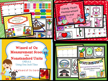 Measurement Bundle One-Nonstandard Units of Measurement