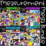 Measurement Clipart Bundle: Math Clipart {Creative Clips Clipart}