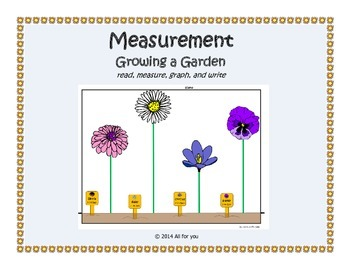 Growing a Garden - Measuring to the nearest inch